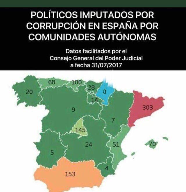 Mapa Corrupcion España 2017.Inigo Alli Twitterissa Mapa De La Corrupcion En Espana