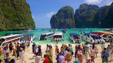 Località chiuse ai turisti nel 2019 - Overtourism Maya Bay in Thailandia