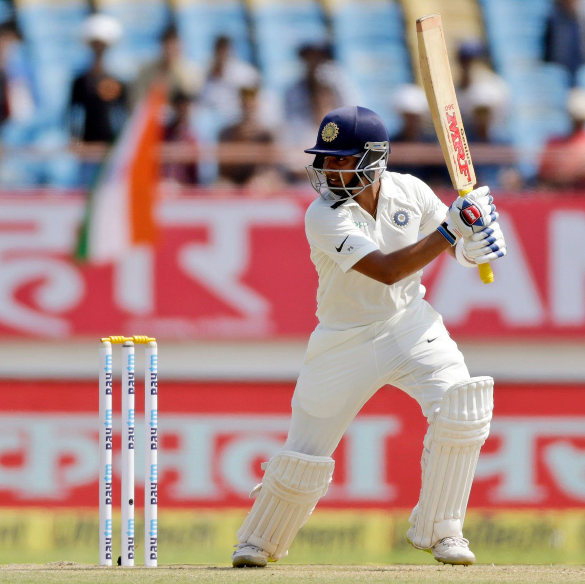 India vs Windies 2018: Prithvi Shaw Scores a Magnificent Hundred on his Debut 1