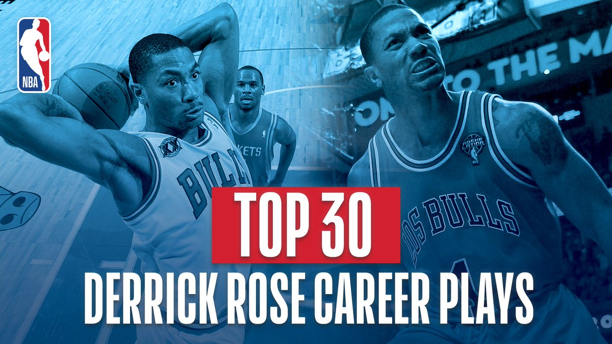 A must-see!   We celebrate @DRose's 30th Birthday with his TOP 30 PLAYS! #NBABDAY