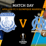 🔥 #MATCHDAY ⚽️ @APOLLONOFFICIAL v @OM_Officiel  🏆 @EuropaLeague Group Stage – MD2 🏟 GSP Stadium  📅 04/10/2018  🕔 22:00 #ApollonMarseille #UEL #Europaleague #ApollonFC #weareapollon ⚪🔵