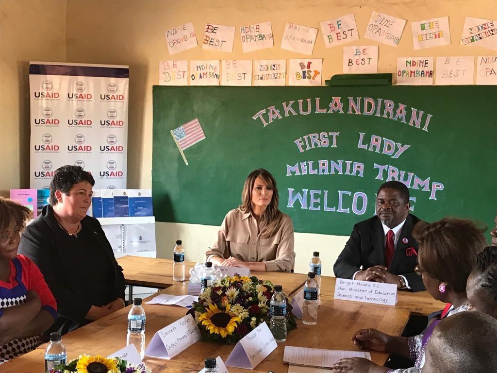Hasil gambar untuk Readout of First Lady Melania Trump's Visit to Accra and Cape Coast, Ghana