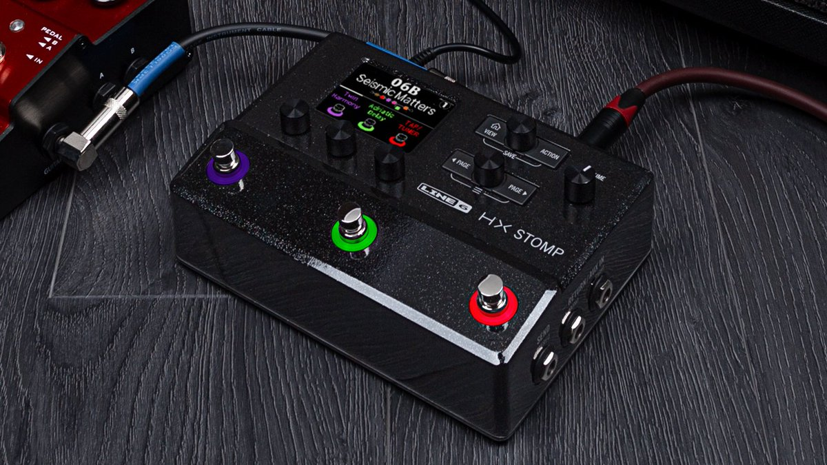 Line6 launches HX Stomp multi-effects, a fully functional