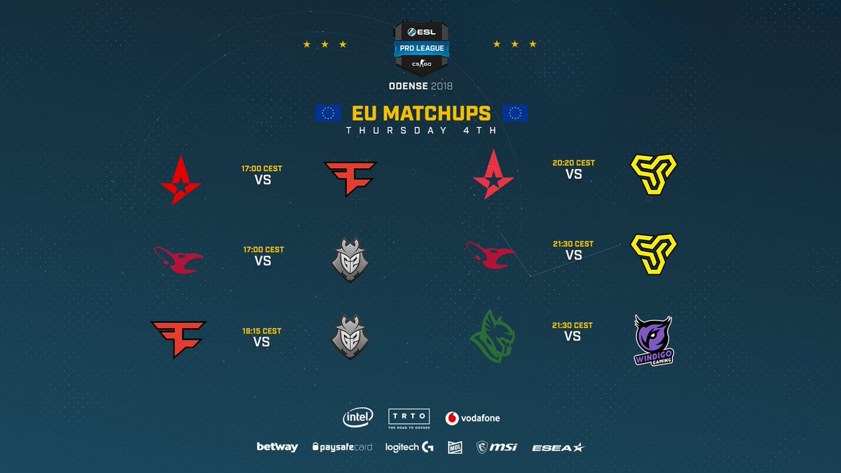 Esl Counter Strike On Twitter Almost Time To Get The Third Day Of