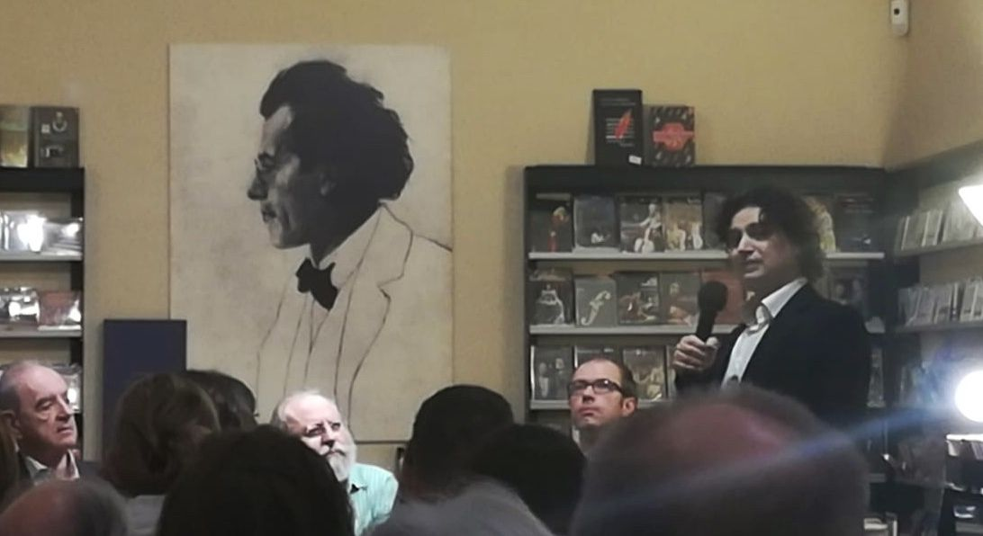 Y así fue la presentación de la ópera #Tenorio que el compositor #TomasMarco  me dedicó. Gracias por este regalo Tomás. En @LaQuintadeMahler y en buena compañía. @SantiagoSerrate @CezannePro #ArturoReverter #opera #blancagutierrezcardona