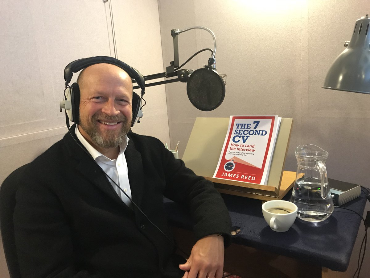 James Reed On Twitter Today Im Recording The Audio Book For The