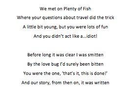 On plenty of fish questions
