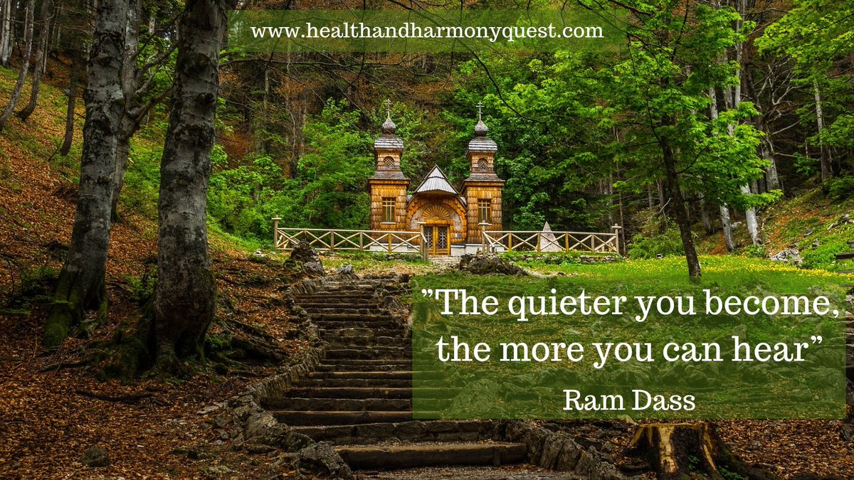 Harmony Quest On Twitter The Quieter You Become The More You Can