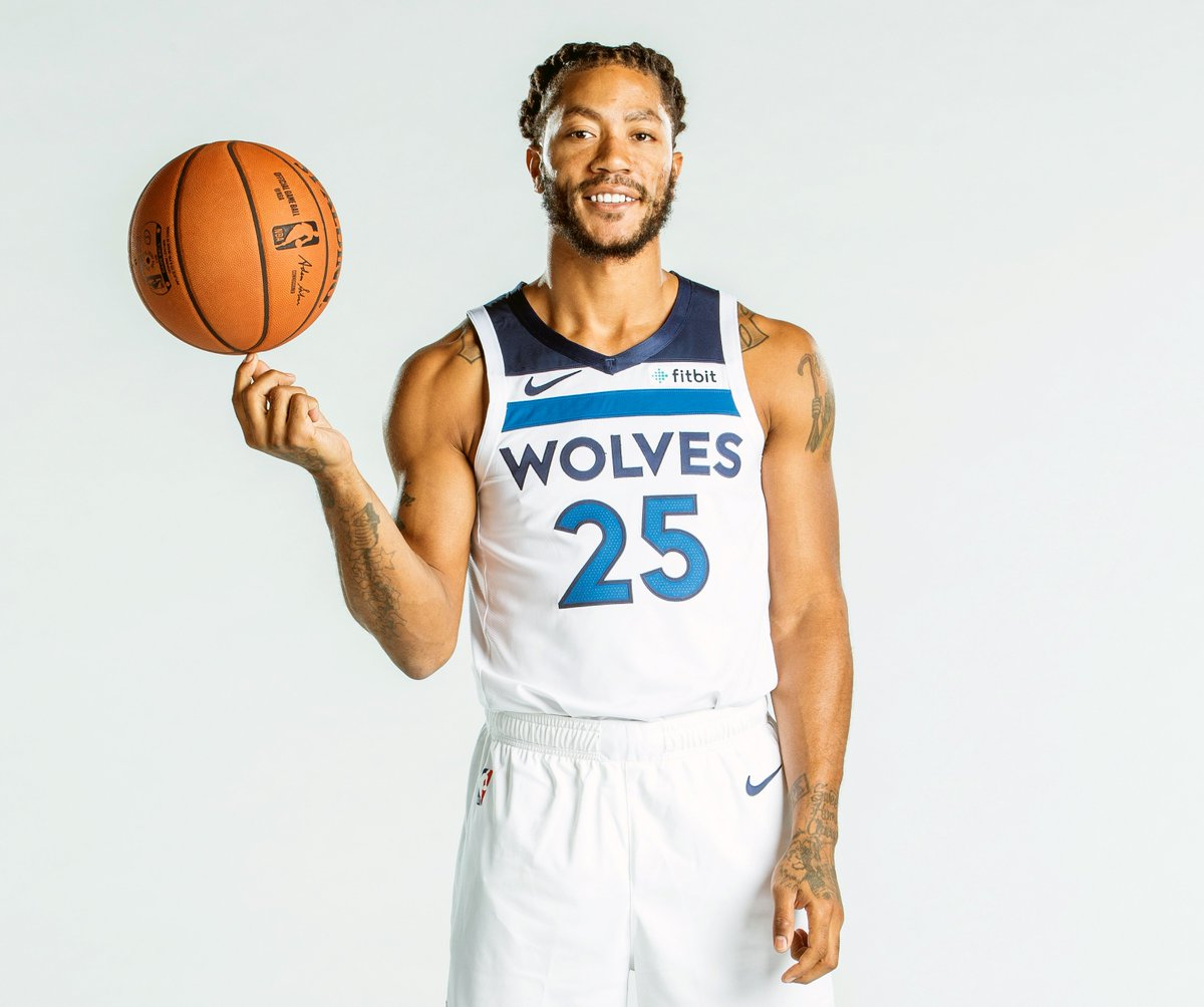 Join us in wishing @drose of the @Timberwolves a HAPPY 30th BIRTHDAY! #NBABDAY