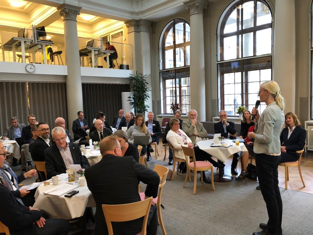 Tack för möjligheten att presentera @eskapsforums forskning och förslag om kompetensförsörjning på arbetsmarknaden