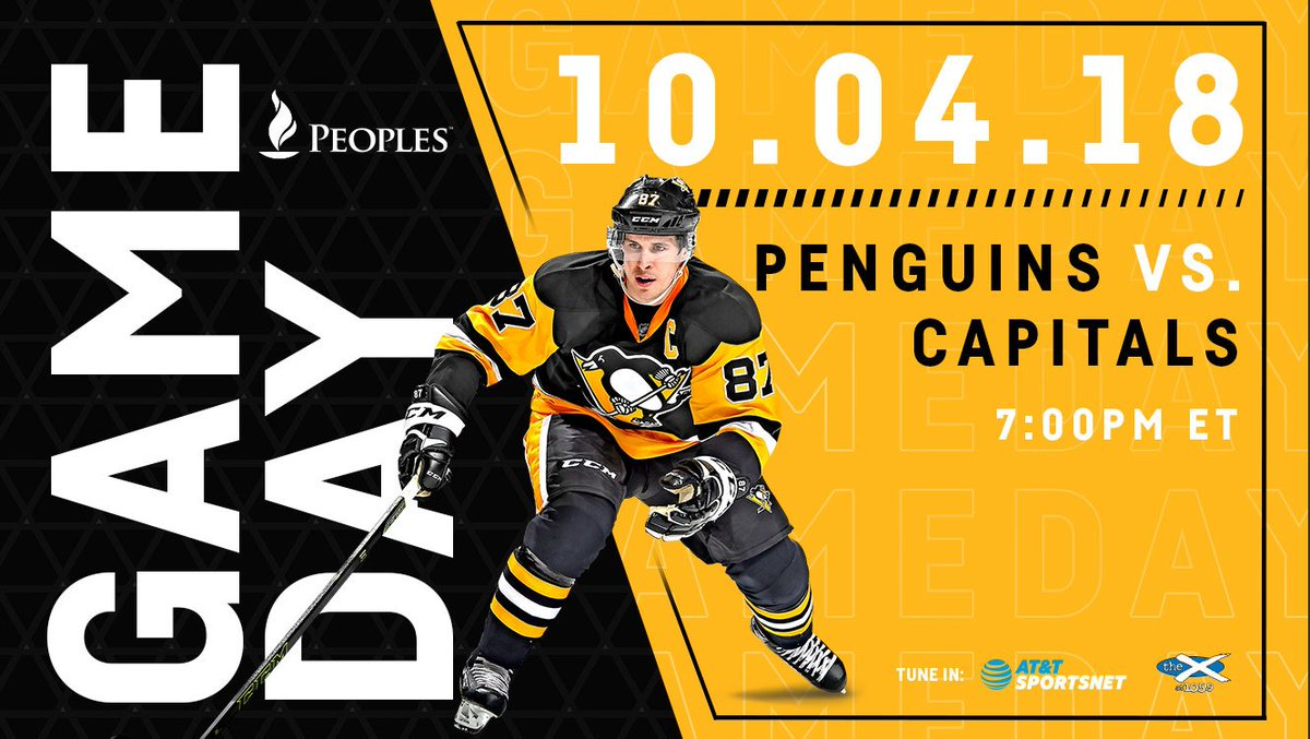 TODAY IS THE DAY.  #LetsGoPens