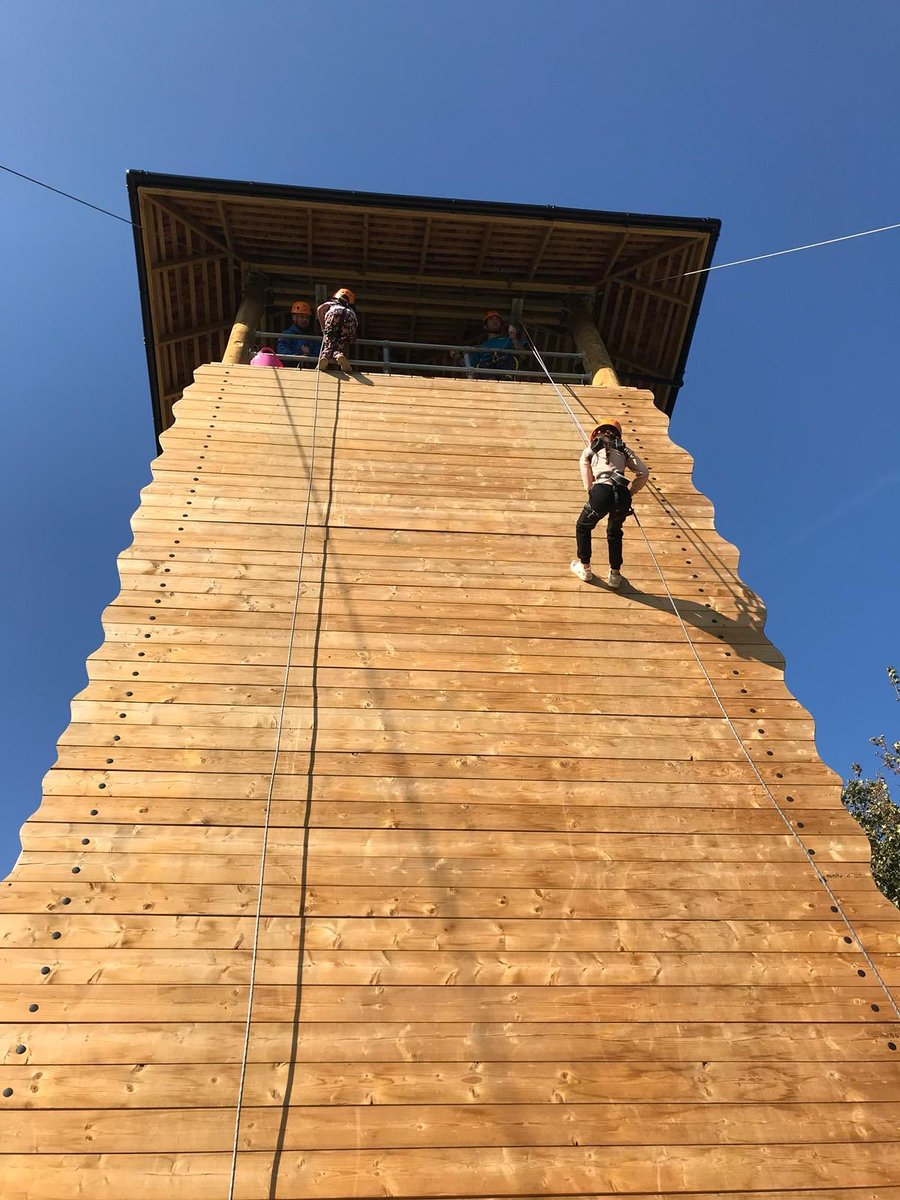 This morning we've had lots of fun abseiling, climbing Jacobs ladder and tackling the challenge course! After a spot of lunch, soaking our team leader with water balloons and a visit to the shop, it's time for our afternoon adventures...