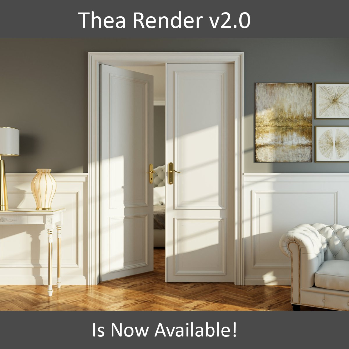 how to render in rhino 4