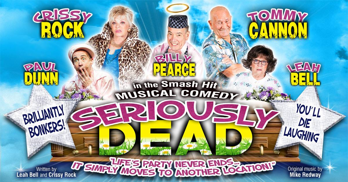 Check out this smash hit comedy, starring the one and only @TheTommyCannon, coming to Tivertons very own @TivertonTheatre. Pop in and get your tickets now!