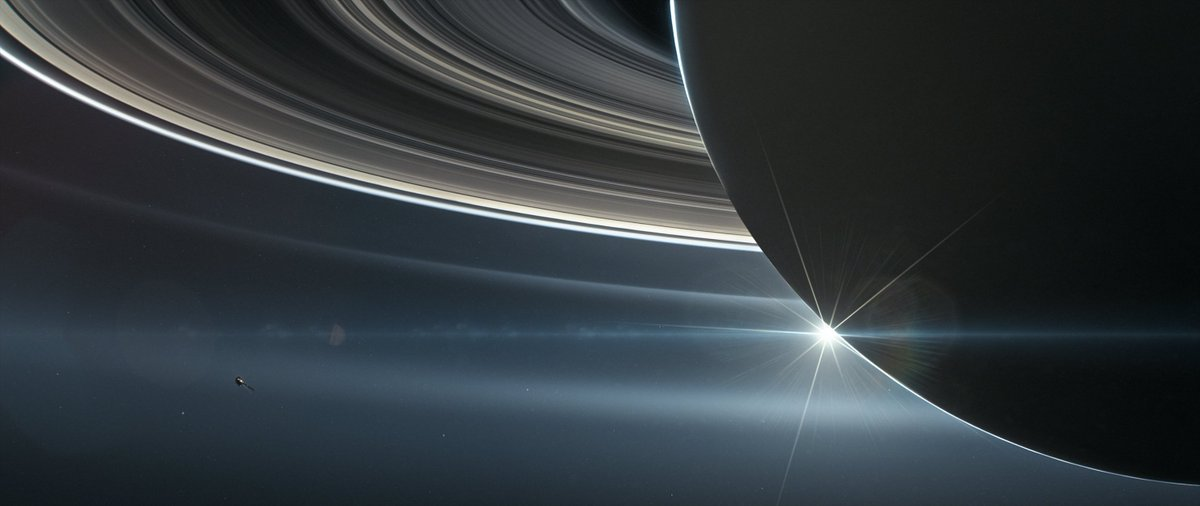 New insights from @CassiniSaturn's dives between Saturn and its rings: https://t.co/lqGOQKThNX  ✨ nanometer-size particles abound 🌧️ organics raining from rings to planet ⚡ electric currents connecting rings + planet ⚖️ alignment between Saturn's magnetic field and spin axis