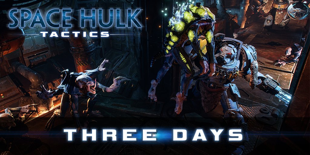 Space Hulk: Tactics on Twitter: