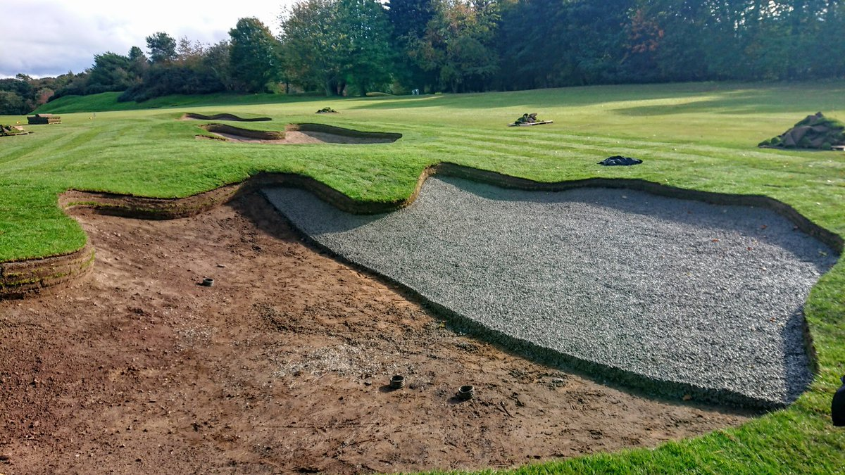 test Twitter Media - Got the first batch of Capillary Concrete down today. Ran out of concrete halfway through this bunker, but it gives you a perfect before and after photo. Don't worry we'll finish the rest tomorrow. Cheers for the help @BorderSportsLtd https://t.co/78lBNzgomv