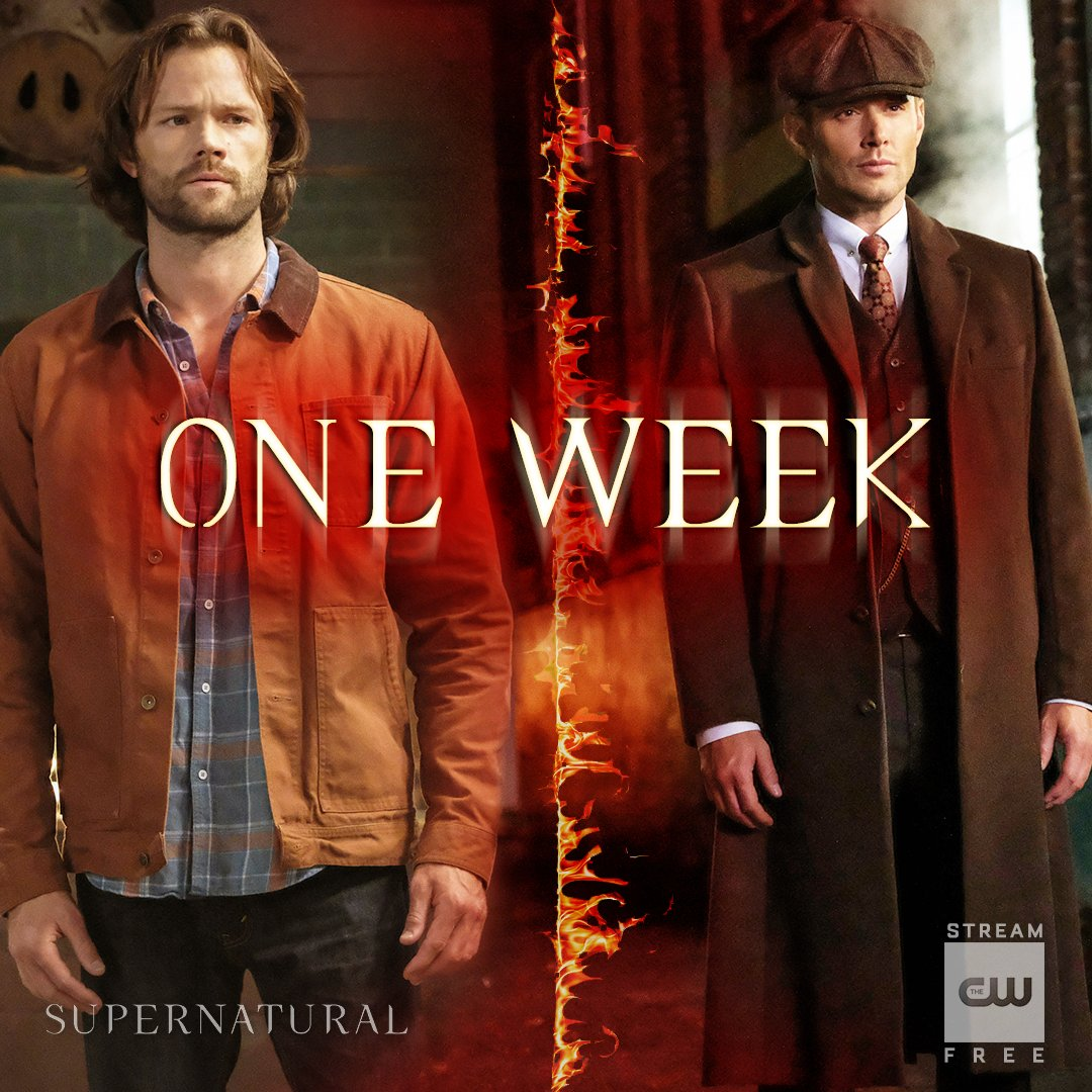 The boys are back. #Supernatural premieres Thursday, October 11 on The CW. Catch up: https://t.co/11L4LgO0K2 https://t.co/Y1hB7jd7WW