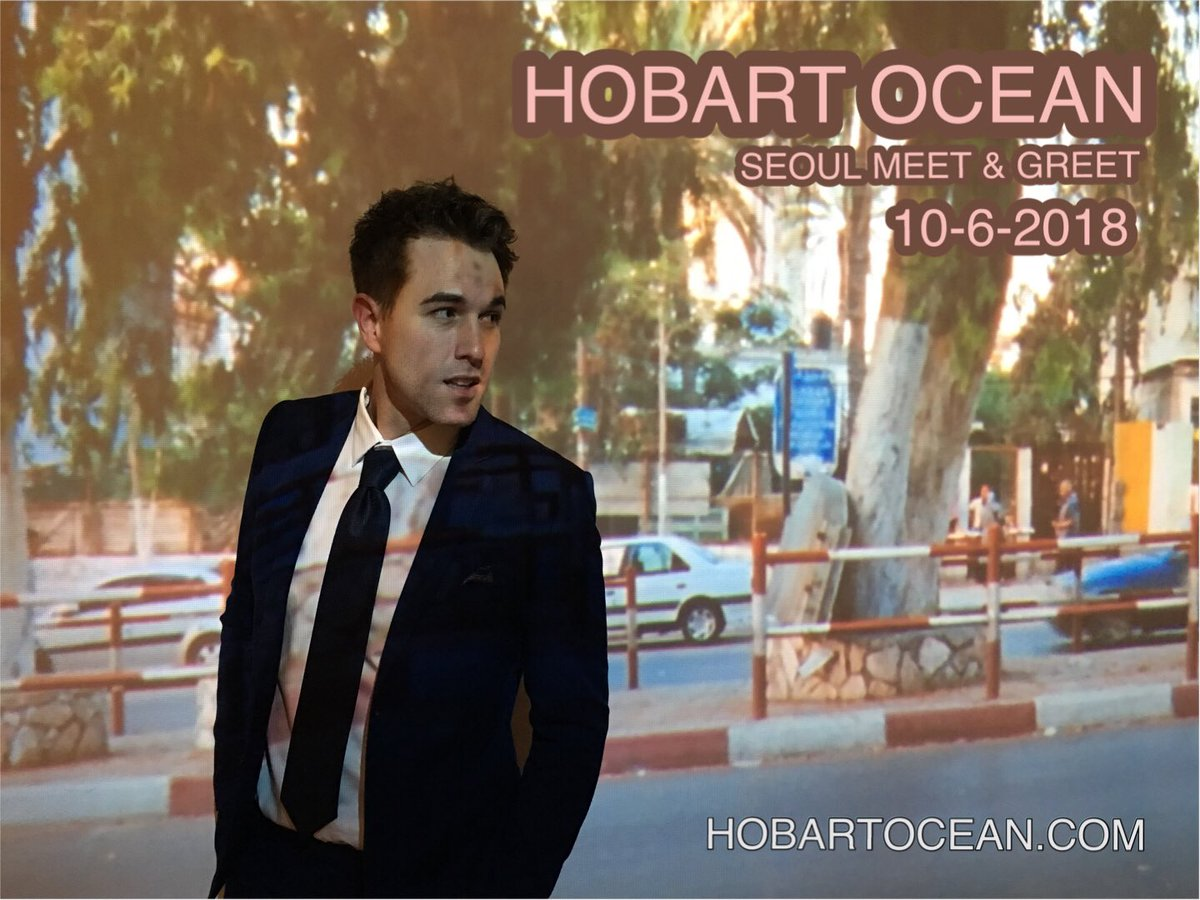 @HobartOcean #Seoul #MeetAndGreet #Saturday #October6  ~~  Looking forward to meeting all you #Korean #Hobos #HobartOceanFans  ————————————— #HobartOcean #WMEG #WandaMusic #WandaMusicEntertainment<br>http://pic.twitter.com/hEoprIUxth