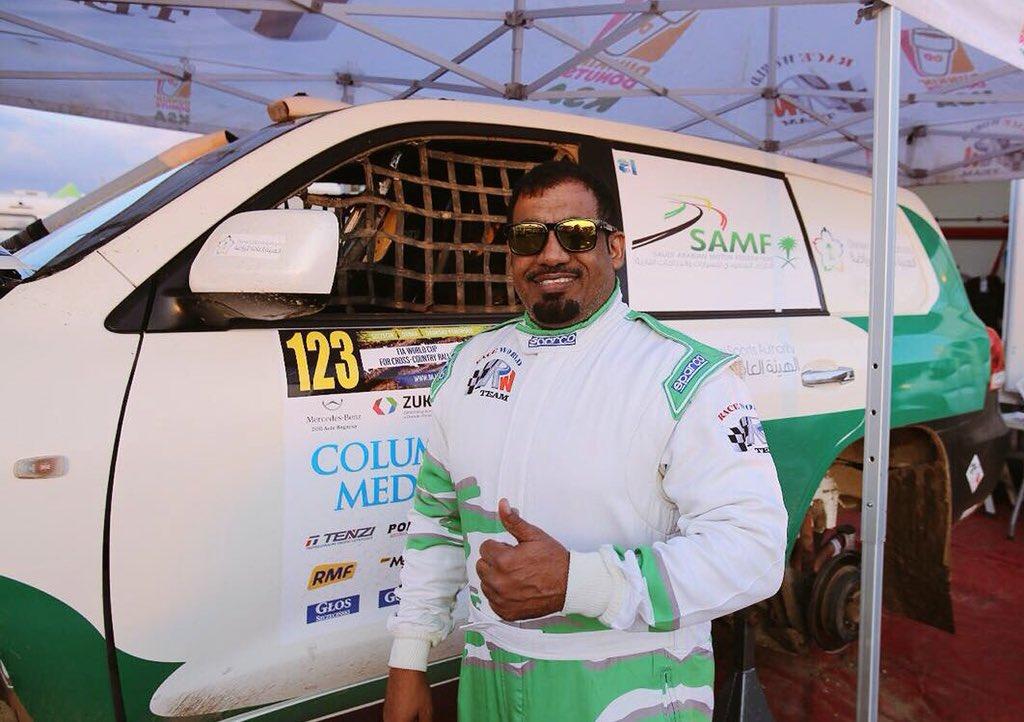 نتيجة بحث الصور عن سائق الراليات السعودي أحمد الشقاوي