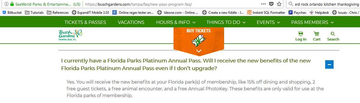 DorWyUJXsAE63W  - Busch Gardens Platinum Pass Free Guest