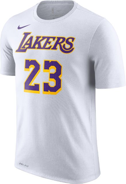 b1c9e9081d1 lebron james 23 los angeles lakers nba mens t shirt white purple yellow