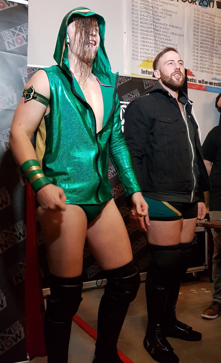 Wxw Germany On Twitter We Are Live At Inner Circle Of Course We