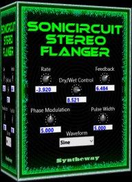 Sonicircuit Stereo Flanger VST / VST3 / AU (@sonicircuit