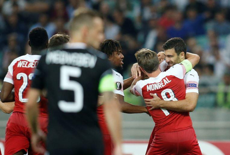 ไฮไล้ท์ ยูโรป้าลีก : การาบัค 0-3 อาร์เซนอล
