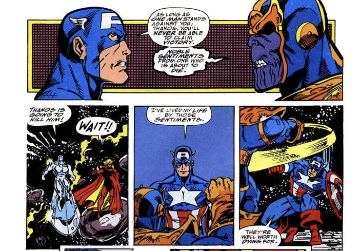 The Comic That Reveals Possible Clues To Avengers Endgames Plot