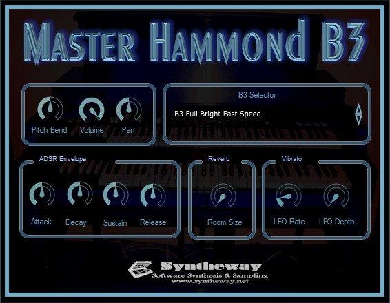 Virtual Hammond B3 Organ on Twitter: