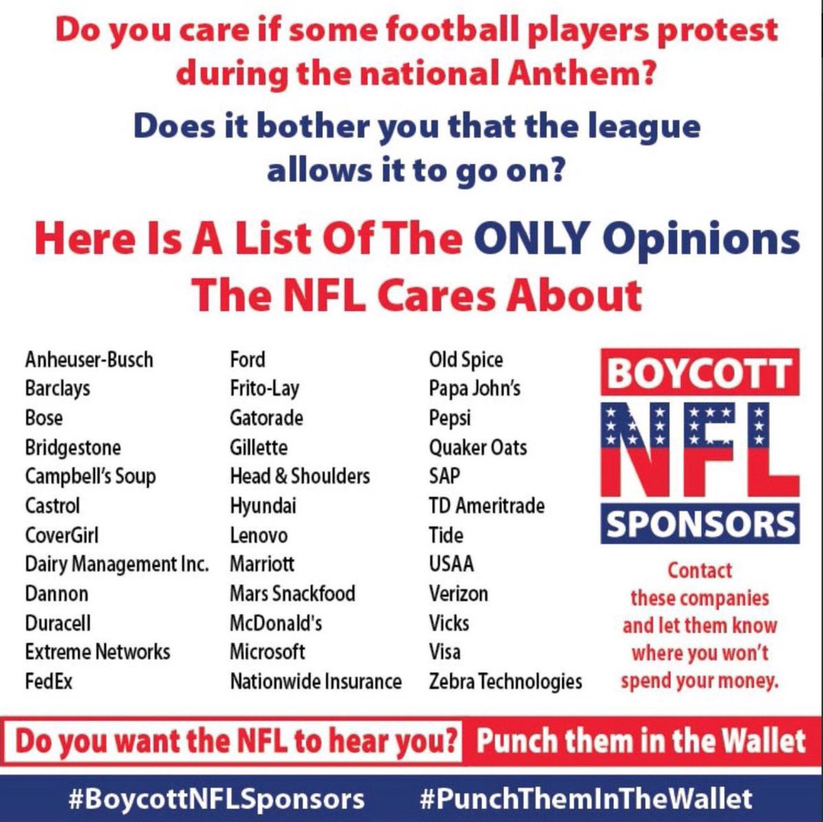 News About Boycottnfl On Twitter