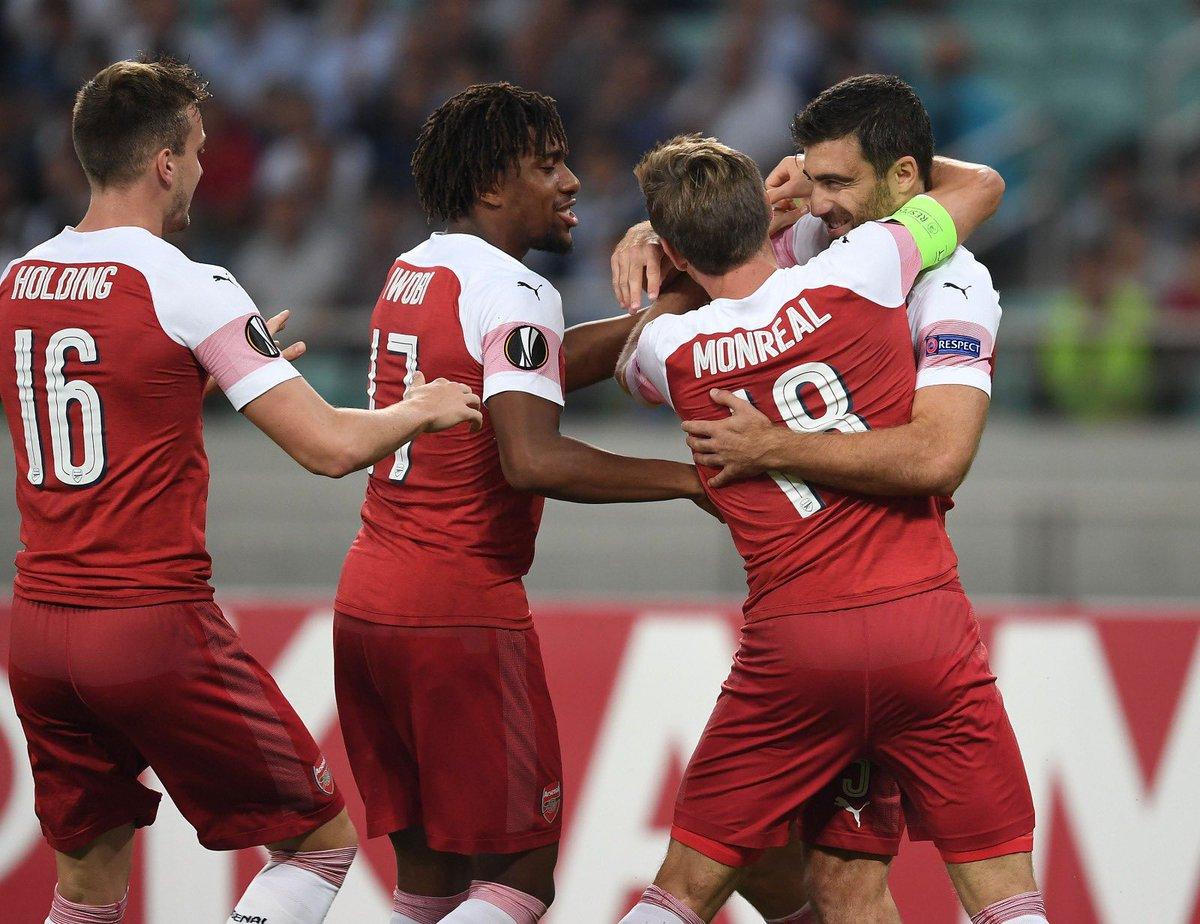 Kết quả lượt trận thứ 2 vòng bảng Europa League đêm qua 5/10