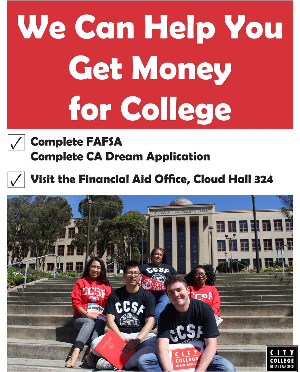 Ccsf Fall 2020.City College Of San Francisco On Twitter Fafsa For The