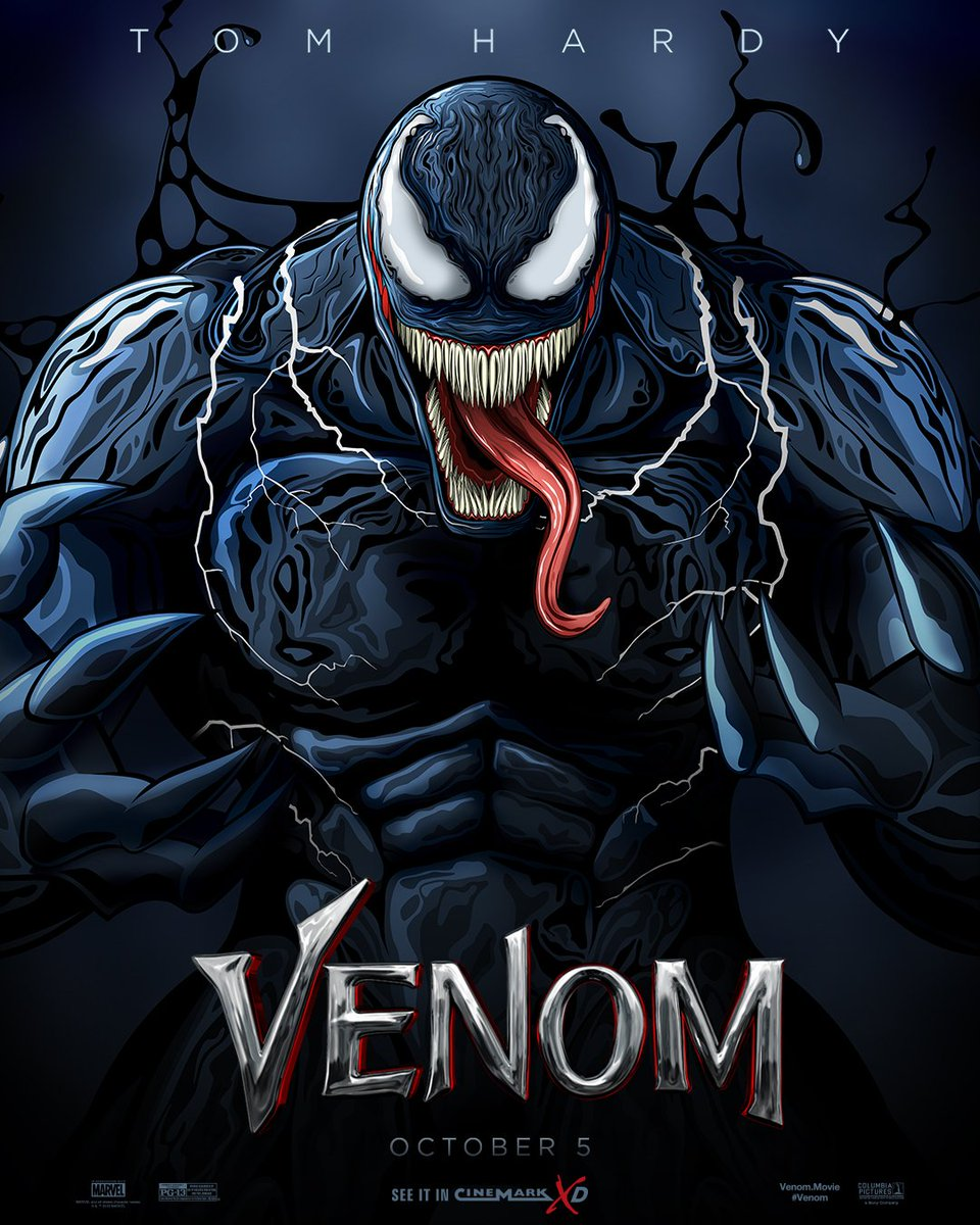 See Venom In CinemarkXD This Weekend And Get Exclusive Print While Supplies Last