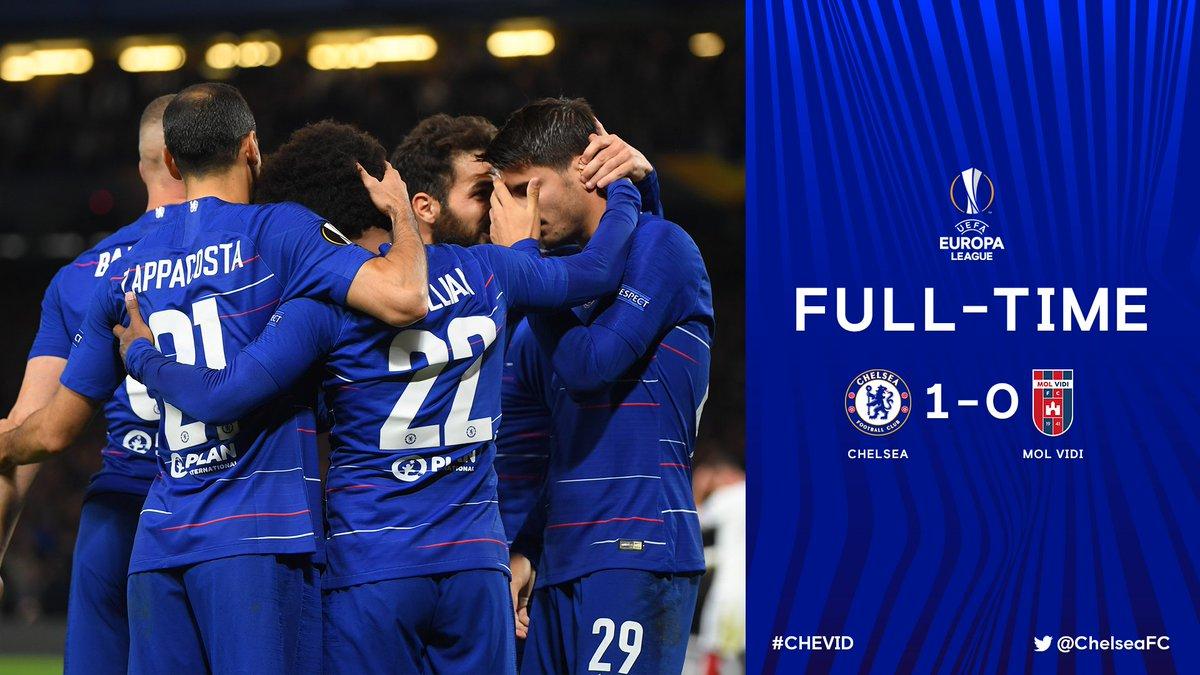 Chấm điểm kết quả Chelsea 1-0 Videoton