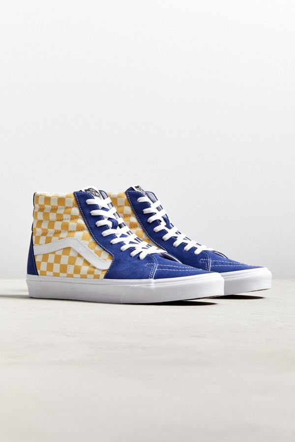21305f074c STEAL  Vans SK8-Hi BMX Checkerboard on sale for only  34.99 (46% OFF)  Yellow  http   bit.ly 2zA6gaT Red  http   bit.ly 2OxAnYP  pic.twitter.com EEKxn1lpRU