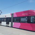Image for the Tweet beginning: .@OKCStreetcar testing on the Downtown