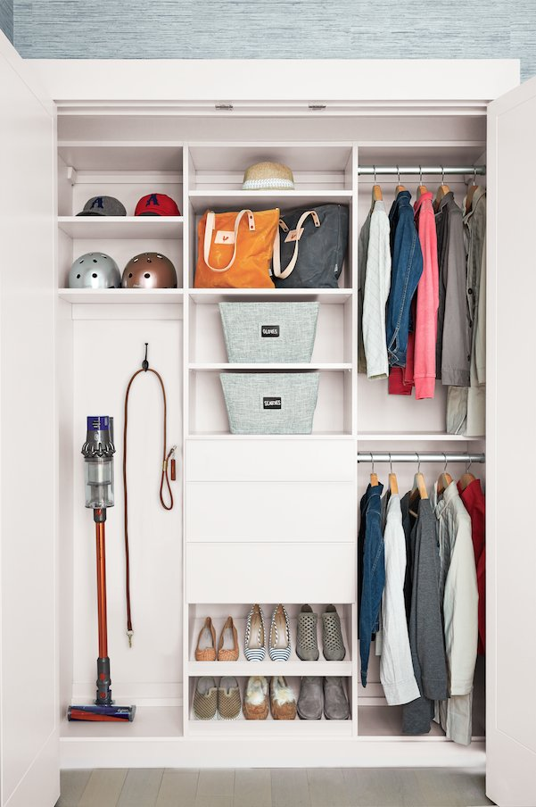 #CaliforniaClosets #NewYork Teamed Up With @NeatMethod To Design A Closet  With Modular Features That Give You The Ability To Reconfigure Your Closet  As Your ...