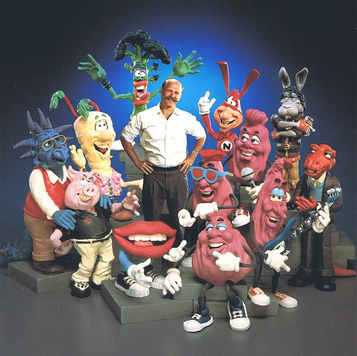 Very sorry to hear of the death of Will Vinton, the Claymation genius who gave us the California Raisins and a whole lot more, including an amazing feature film about Mark Twain.