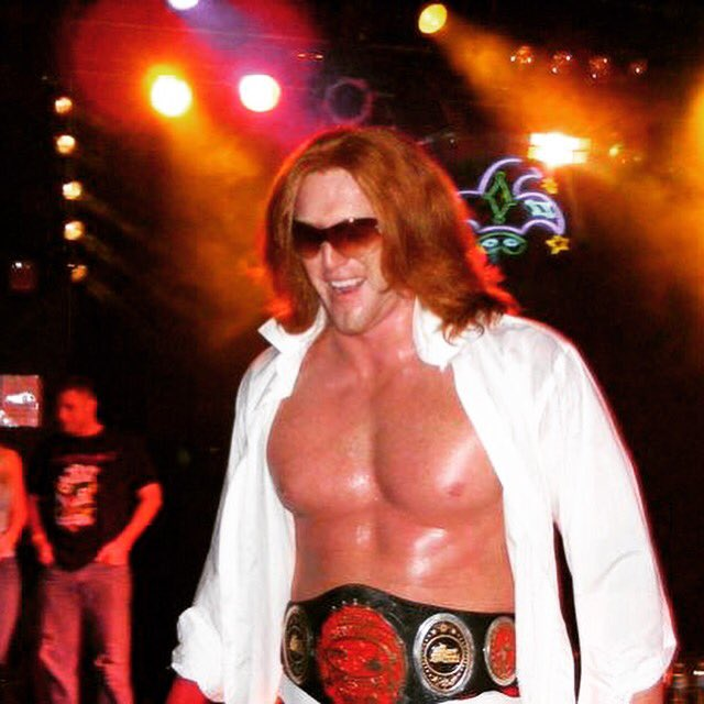 #TBT Oh Baby!!!! Handsome Heath Miller. With the Southern Heavyweight Championship!!! #wwe #rockstar #over #ashell #igotkids