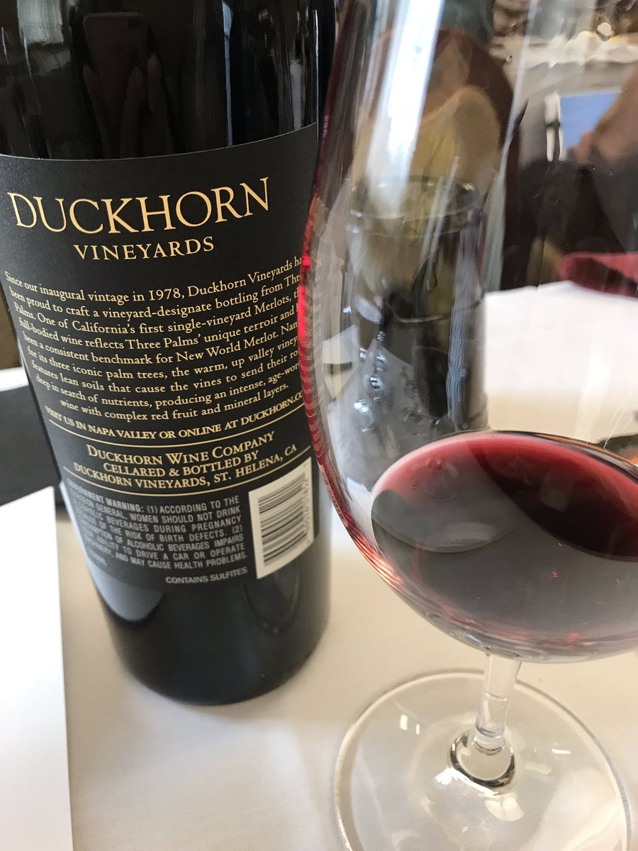 Vino Con Vista Italy On Twitter Go Out And This Wine Asap Merlotme Duckhornwine