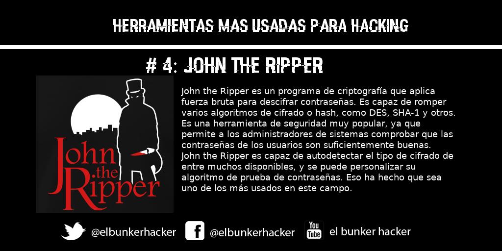 Hashtag #johntheripper auf Twitter