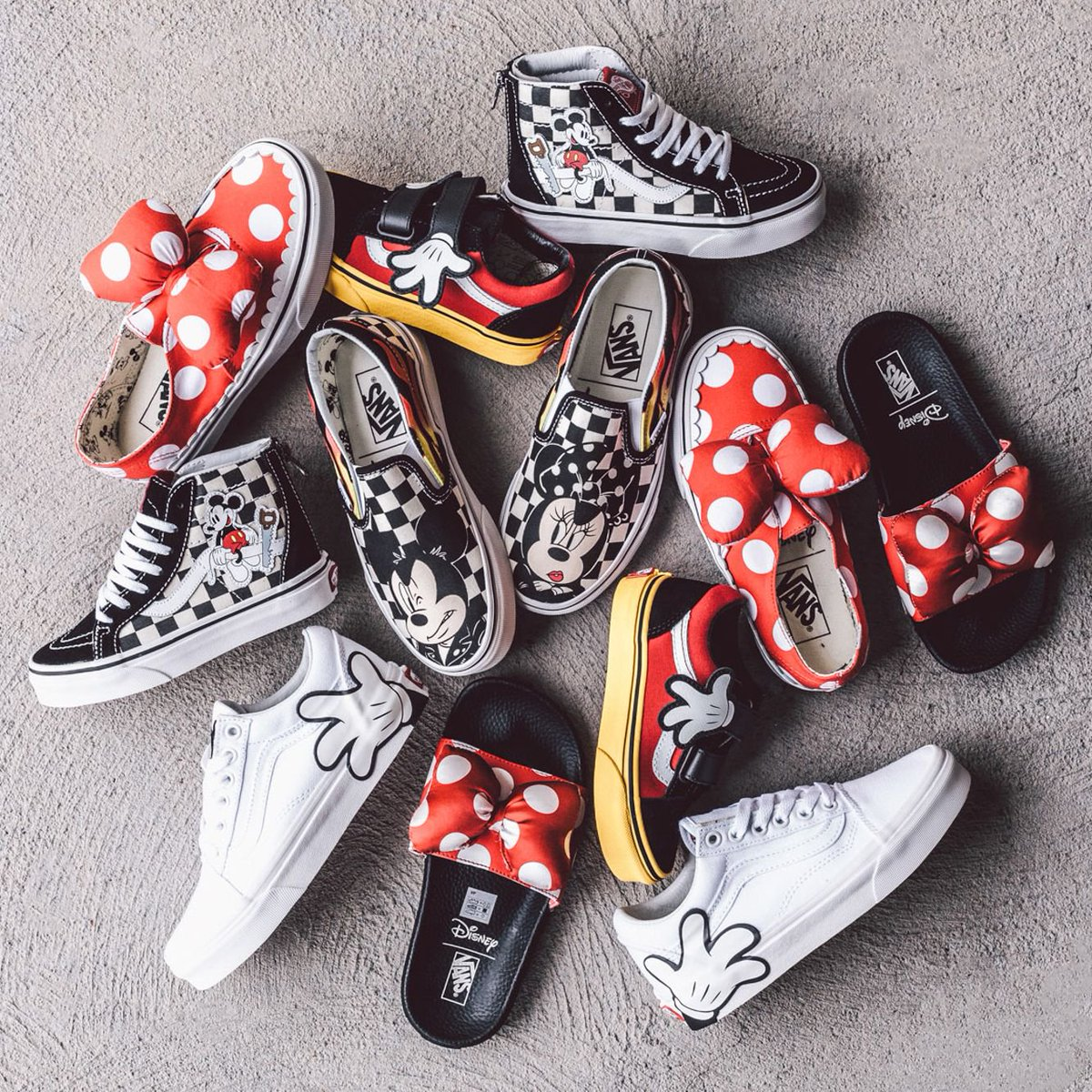 2b4b6401e2 The Vans x Disney Mickey Mouse 90th Anniversary collection is available now  online at http   BAITme.com .pic.twitter.com F69krNkfd8