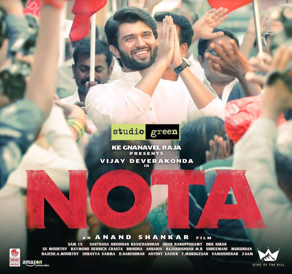 #NOTA - FIRST REVIEW - Vijay Deverakonda Impresses and boldly exposes TN Politics and Politicians