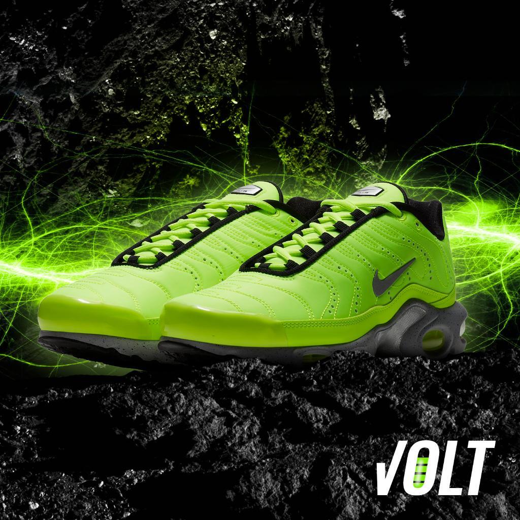 Nike Air Max Plus Volt Green pack hits