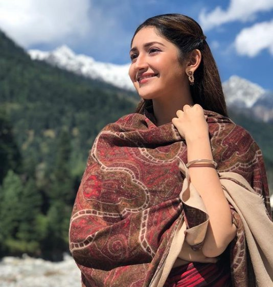 Sayyeshaa on a Training Spree