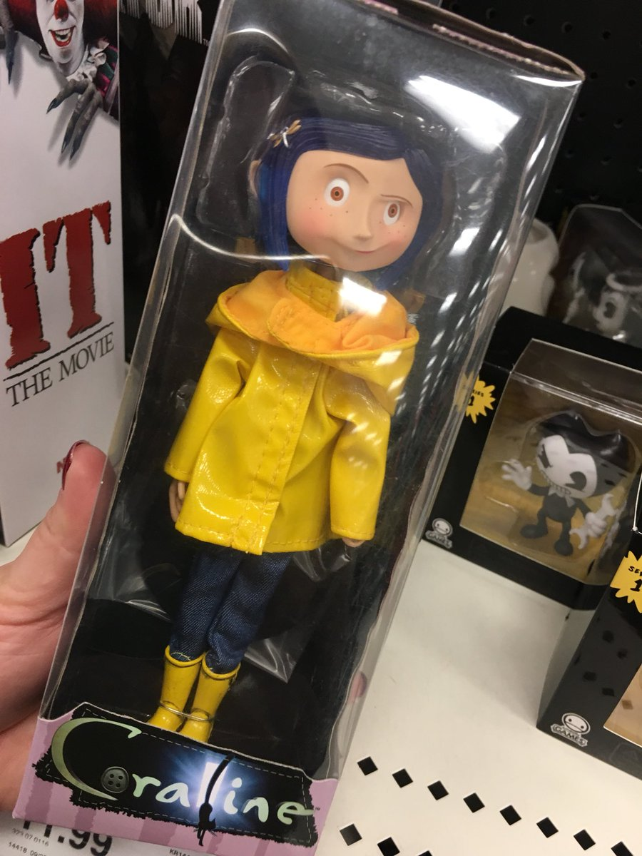 𝖑𝖊𝖝𝖎 On Twitter Target Now Has The Coraline Doll If You Re Willing To Drop Some Money In The Name Of Coooooo Ra Line
