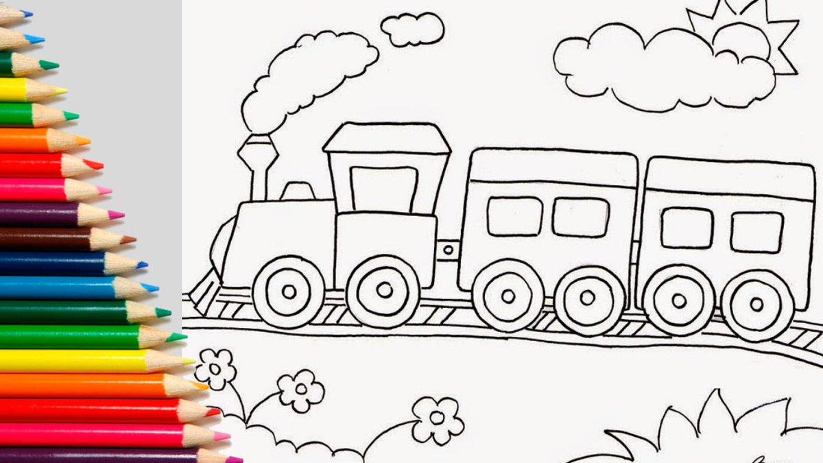 80 Gambar Anak Tk Kereta Api Paling Bagus