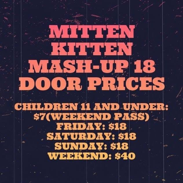 A whole weekend of derby for what's usually the price of just a couple games! Check out Mitten Kitten's low prices for kids 11 and under! #michiganrollerderby #lansingsports